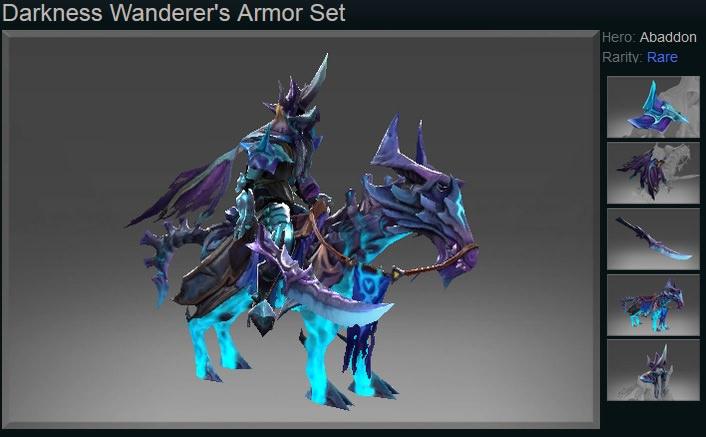 Abaddon_Darkness Wanderer's Armor Set