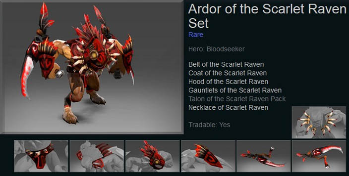 Ardor of the Scarlet Raven