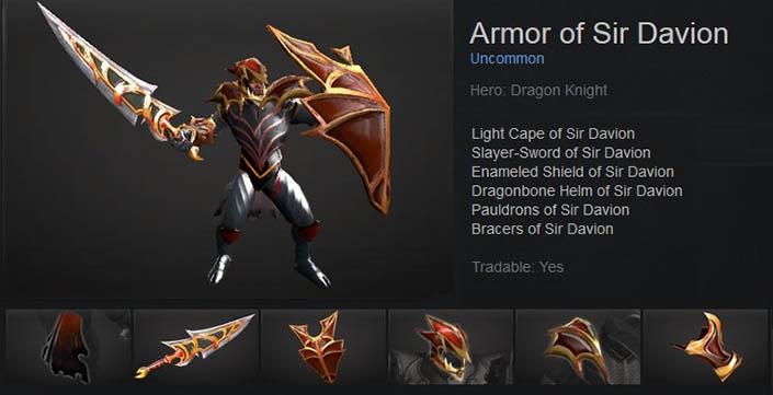 Armor of Sir Davion