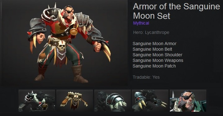 Armor of the Sanguine Moon