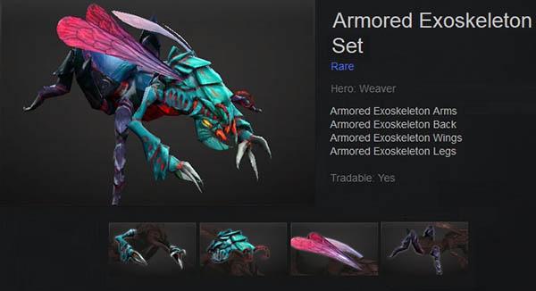 Armored Exoskeleton