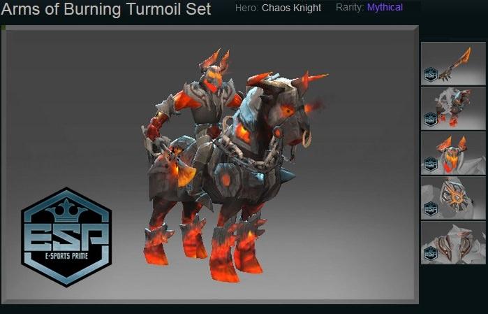 Arms of Burning Turmoil