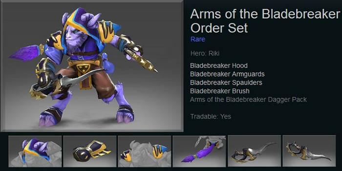 Arms of the Bladebreaker Order