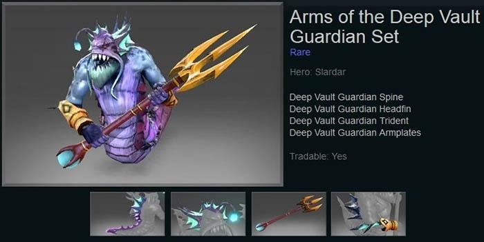 Arms of the Deep Vault Guardian