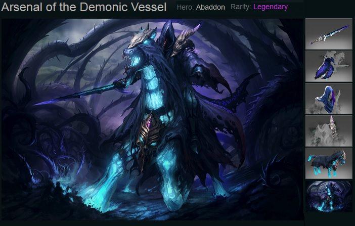 Arsenal of the Demonic Vessel