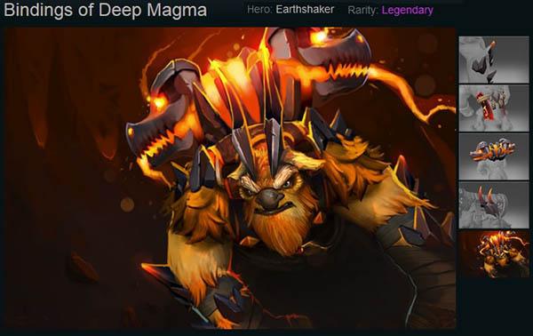 Bindings of Deep Magma