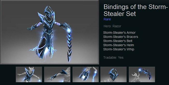 Bindings of the Storm-Stealer