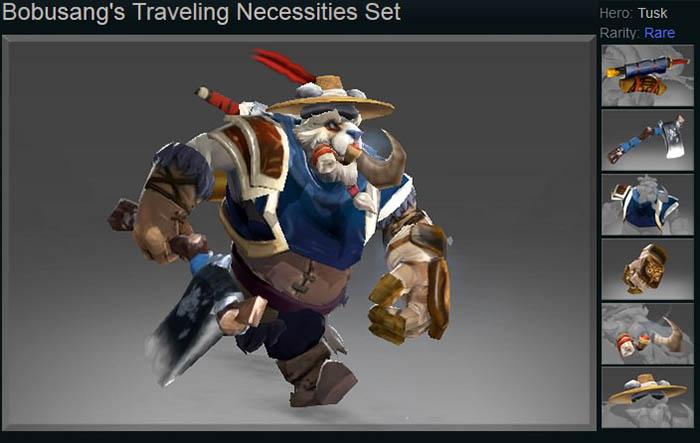 Bobusang's Traveling Necessities