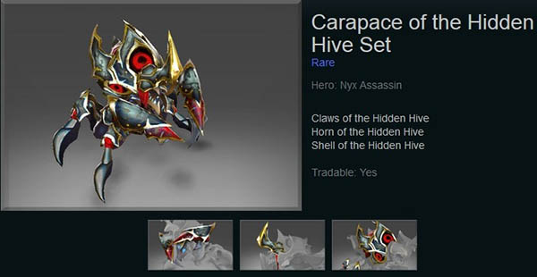 Carapace of the Hidden Hive
