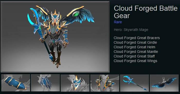 Cloud Forged Battle Gear