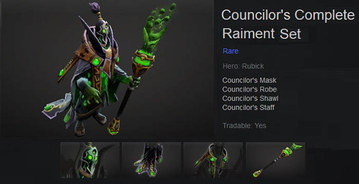 Councilor's Complete Raiment
