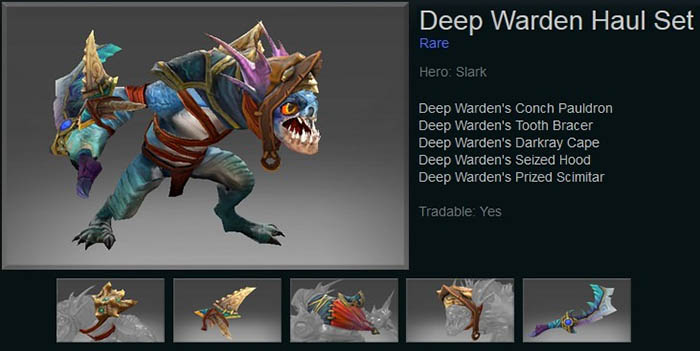 Deep Warden Haul