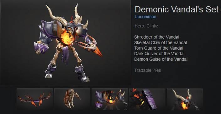 Demonic Vandal's
