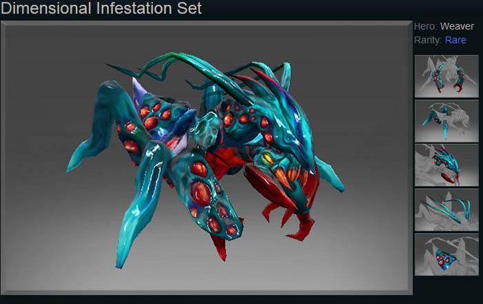 Dimensional Infestation