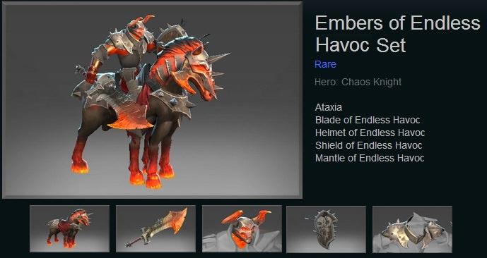 Embers of Endless Havoc Set
