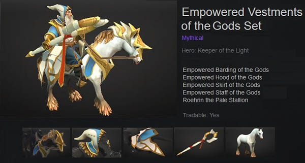 Empowered Vestments of the Gods