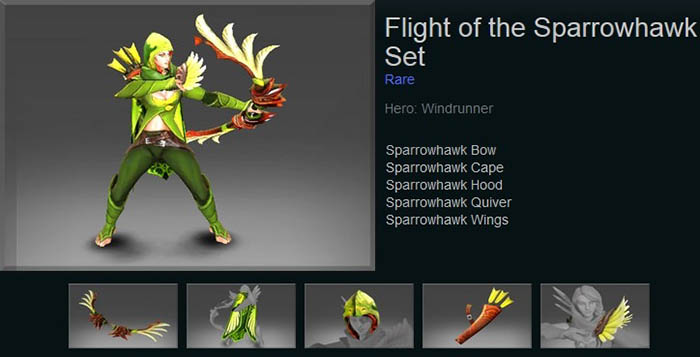 Flight of the Sparrowhawk