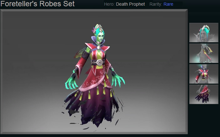 Foretellers Robes