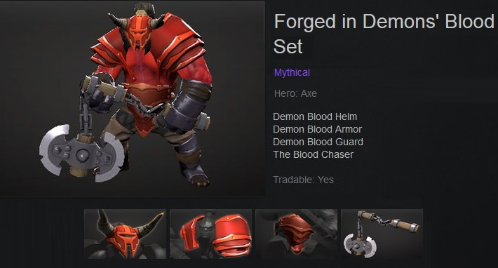 Forged in Demons' Blood