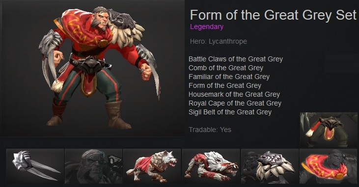 Form of the Great Grey