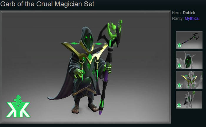 Garb of the Cruel Magician