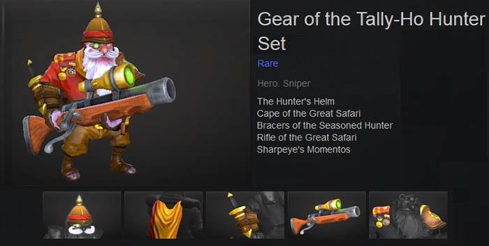 Gear of the Tally-Ho Hunter