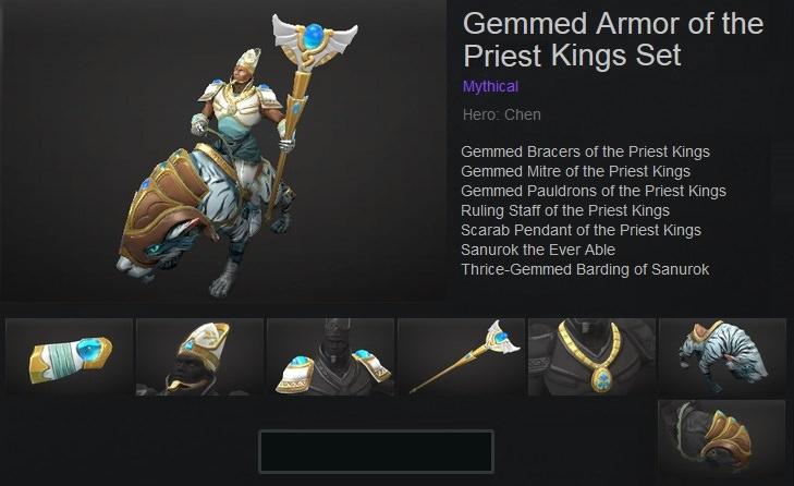 Gemmed Armor of the Priest Kings