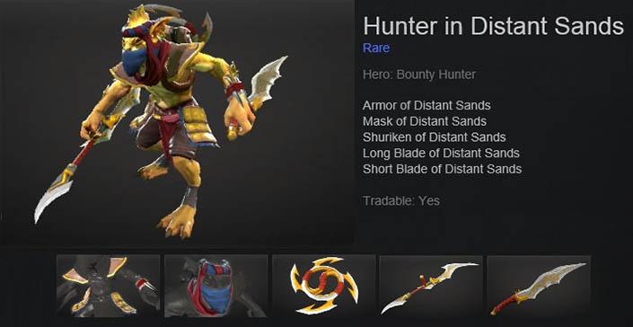 Hunter in Distant Sands