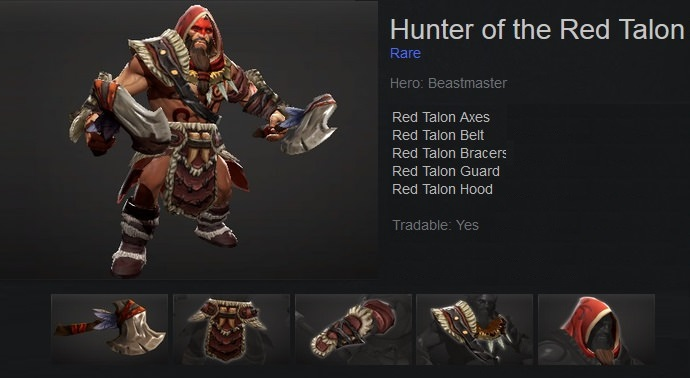 Hunter of the Red Talon Set