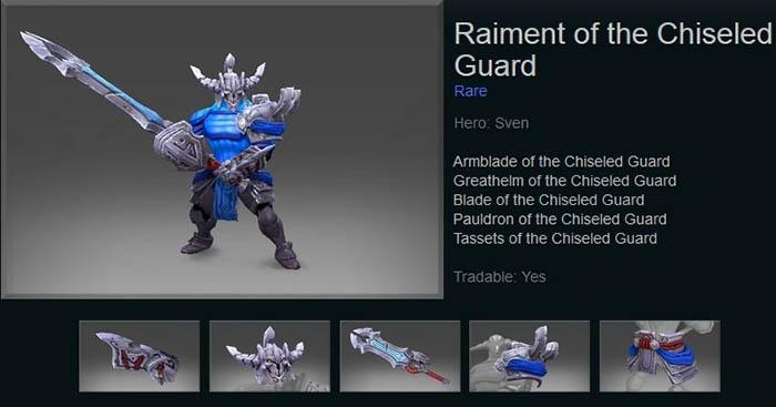 Raiment of the Chiseled Guard