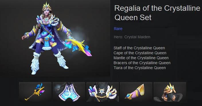Regalia of the Crystalline Queen