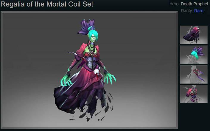 Regalia of the Mortal Coil