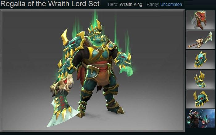 Regalia of the Wraith Lord