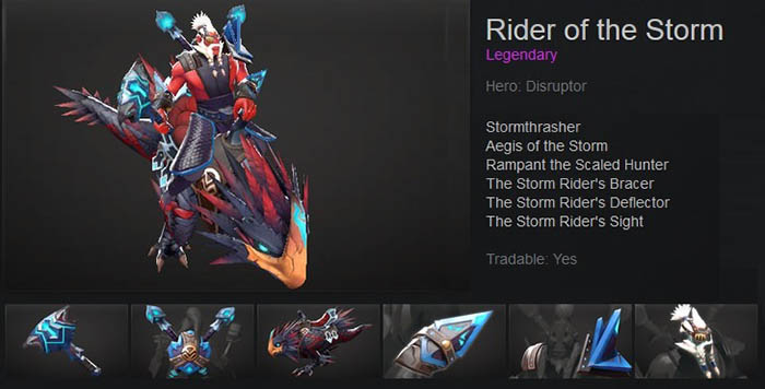 Rider of the Storm