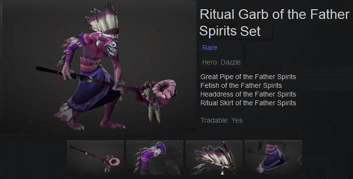 Ritual Garb of the Father Spirits