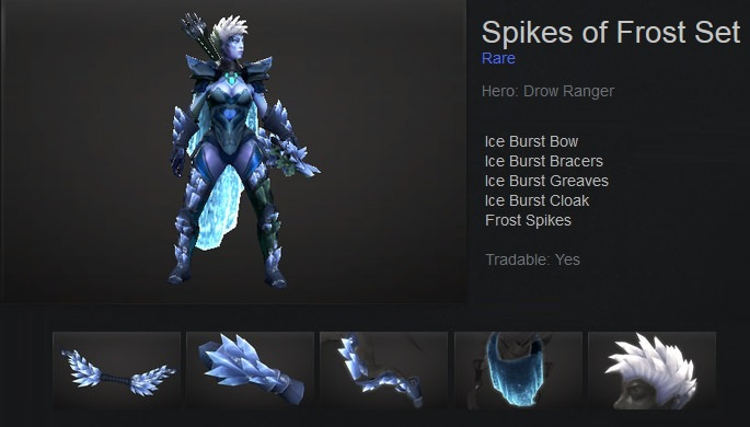 Spikes of Frost