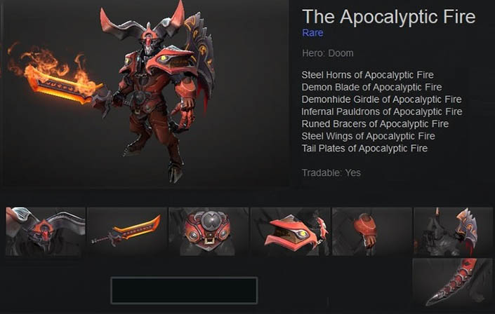 The Apocalyptic Fire