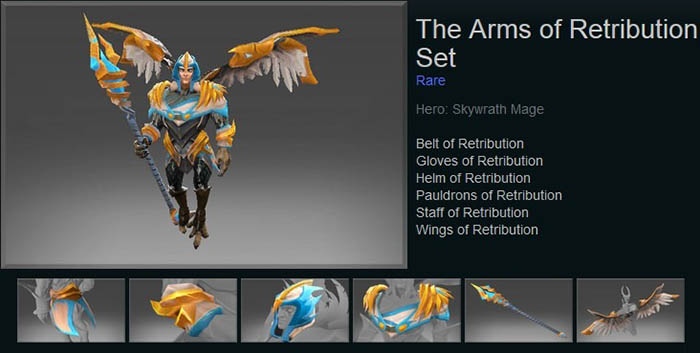 The Arms of Retribution