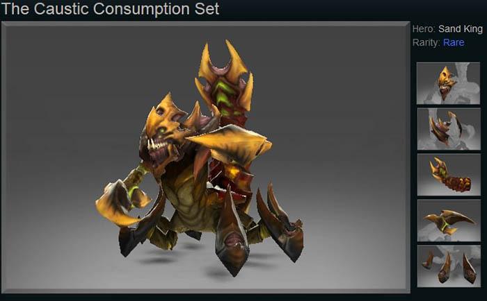 The Caustic Consumption