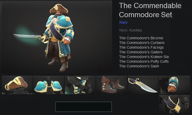 The Commendable Commodore