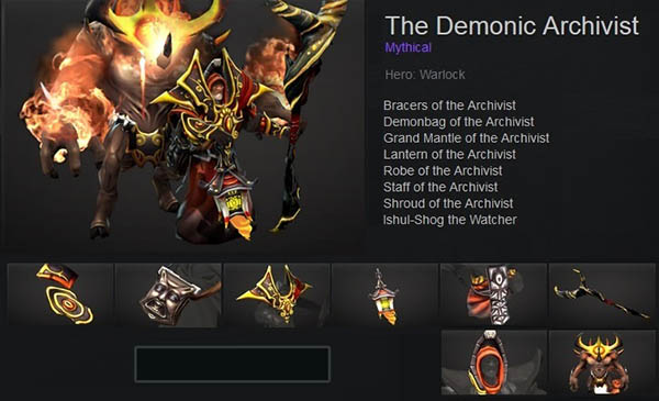 The Demonic Archivist