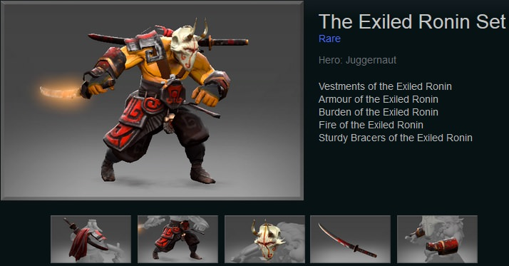 The Exiled Ronin
