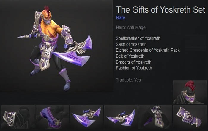 The Gifts of Yoskreth