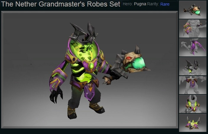 The Nether Grandmaster's Robes