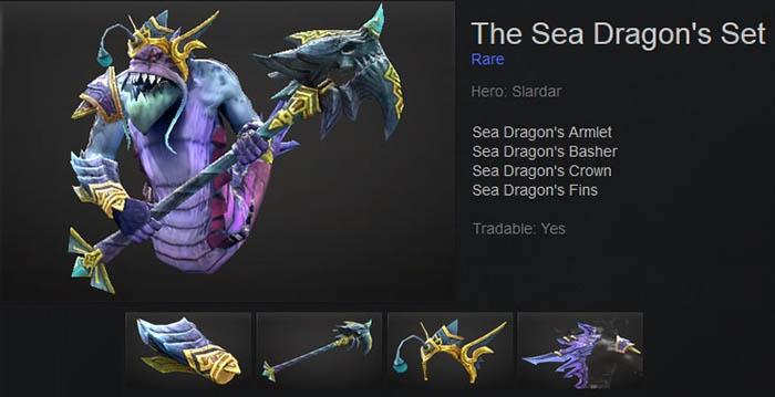 The Sea Dragon's