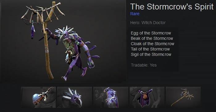 The Stormcrow's Spirit