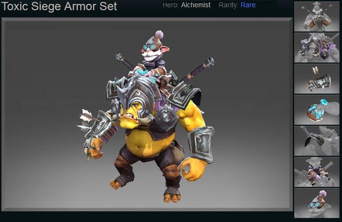 Toxic Siege Armor