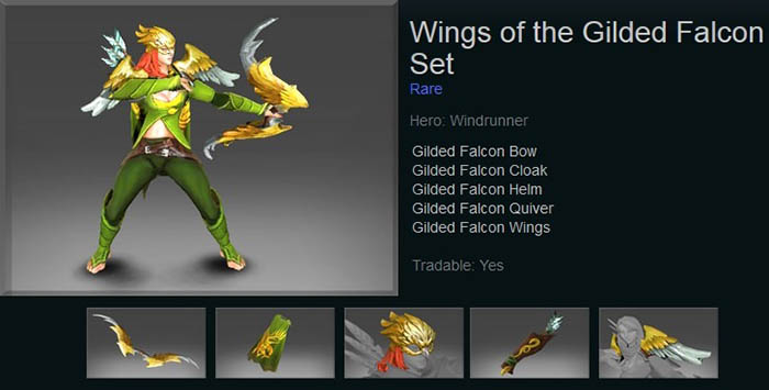 Wings of the Gilded Falcon