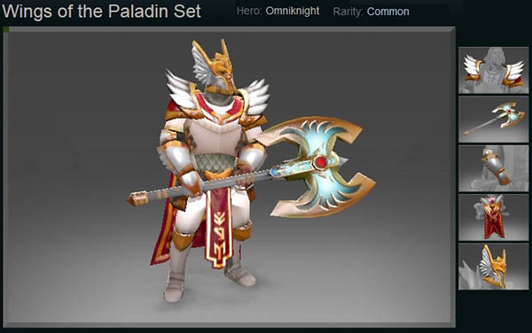 Wings of the Paladin