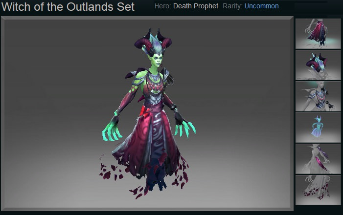 Witch of the Outlands